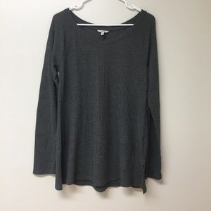 Dark grey tunic top